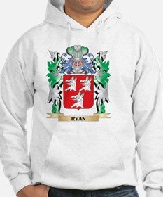 Ryan Coat of Arms - Family Crest Hoodie