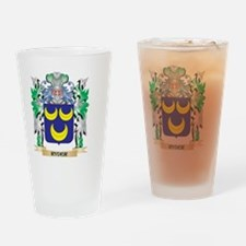 Ryder Coat of Arms - Family Crest Drinking Glass