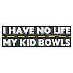 My Kid Bowls Bumper Sticker