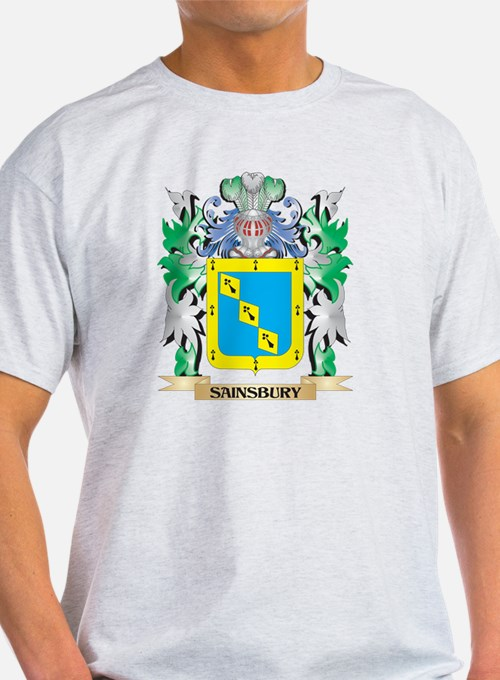 Sainsbury Coat of Arms - Family Crest T-Shirt