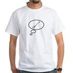 Thinking of Archery White T-Shirt