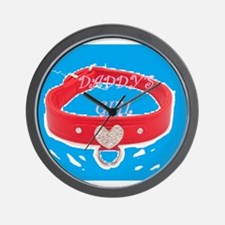 Daddy's Girl (torquoise) Wall Clock