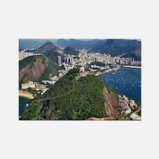 Funny Rio de janeiro Rectangle Magnet