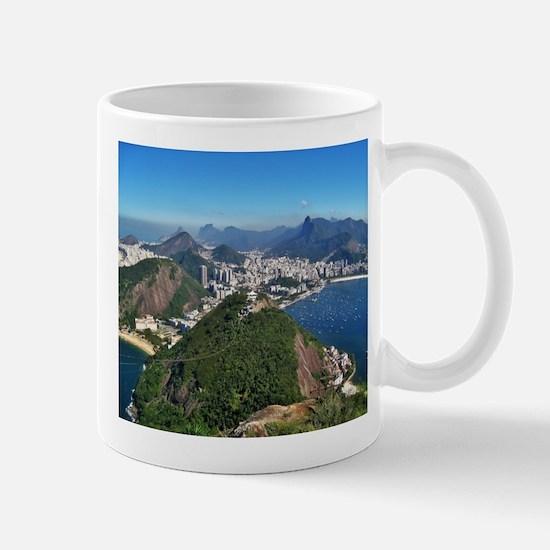 Beautiful Rio de Janeiro mountains Mugs