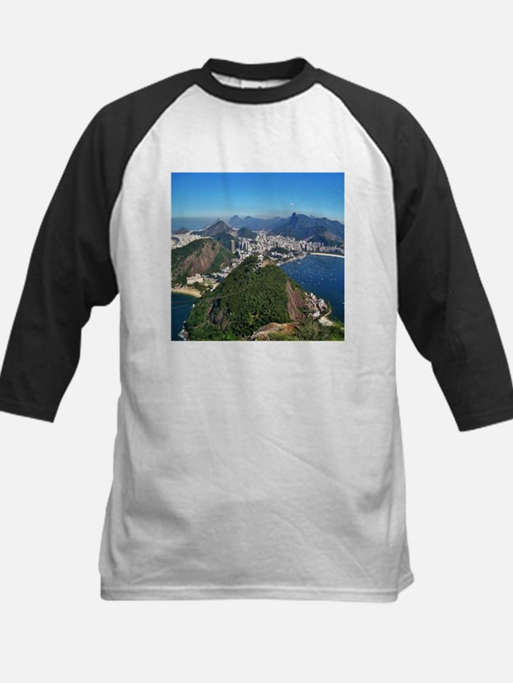 Beautiful Rio de Janeiro mountains Baseball Jersey