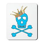 Blue Pirate Royalty Mousepad