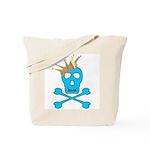 Blue Pirate Royalty Tote Bag