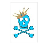 Blue Pirate Royalty Postcards (Package of 8)