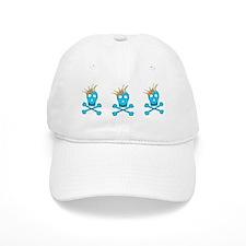 Blue Pirate Royalty Baseball Cap