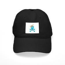 Blue Pirate Royalty Baseball Hat