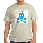 Blue Pirate Royalty Light T-Shirt