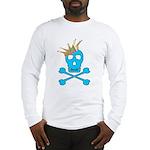 Blue Pirate Royalty Long Sleeve T-Shirt