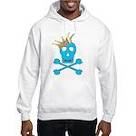 Blue Pirate Royalty Hooded Sweatshirt