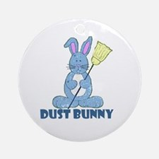 Dust Bunny Ornament (Round)