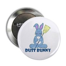"""Dust Bunny 2.25"""" Button (10 pack)"""