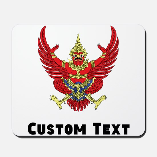 Thailand Coat Of Arms Mousepad
