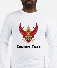 Thailand Coat Of Arms Long Sleeve T-Shirt