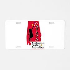 Foster care Aluminum License Plate