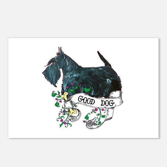 Good Dog Scottish Terrier Postcards (Package of 8)