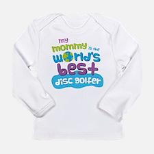 Disc Golfer Gift for Ki Long Sleeve Infant T-Shirt