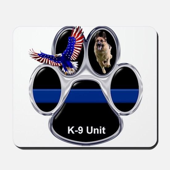 K-9 Unit Mousepad