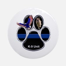 K-9 Unit Round Ornament