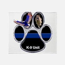 K-9 Unit Throw Blanket