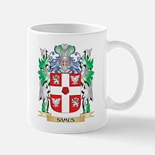 Samus Coat of Arms - Family Crest Mugs