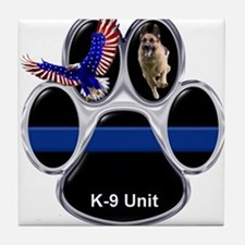 K-9 Unit Tile Coaster