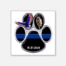 K-9 Unit Sticker