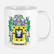 Sanchez Coat of Arms - Family Crest Mugs