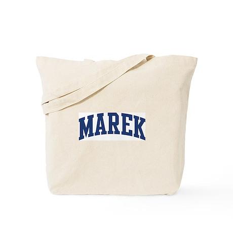 MAREK design (blue) Tote Bag
