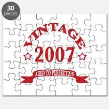 Vintage 2007 Aged to Perfection Puzzle