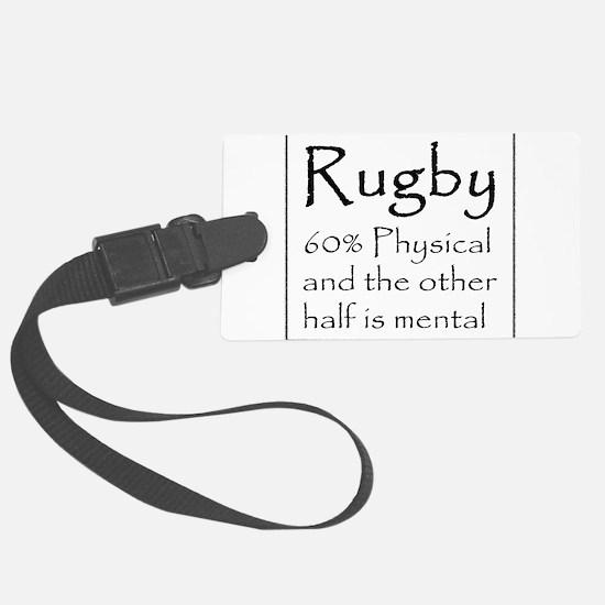 Rugby Luggage Tag