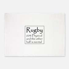 Rugby 5'x7'Area Rug