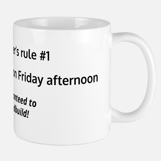 Programmer's rule #1 Mugs