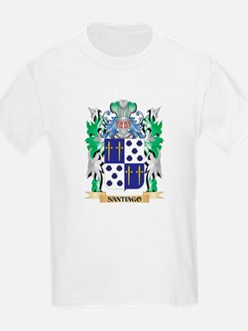 Santiago Coat of Arms - Family Crest T-Shirt