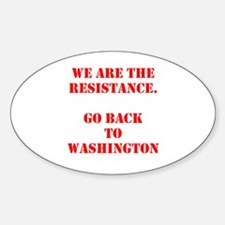 We Are the Resistance (Red) Decal