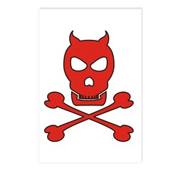 Pirate Devil Postcards (Package of 8)
