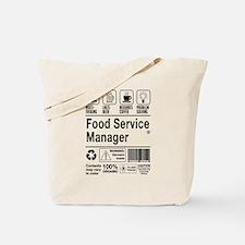 Unique Food service Tote Bag