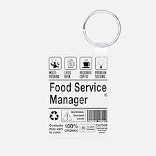 Cute Food service Keychains