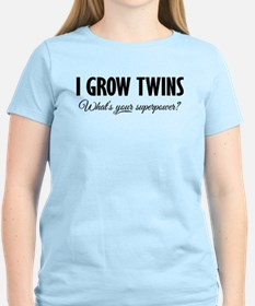 I Grow Twins - What's your superpower? T-Shirt