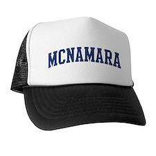 MCNAMARA design (blue) Trucker Hat