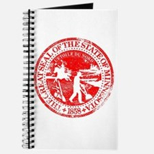 Minnesota Seal Rubber Stamp Journal