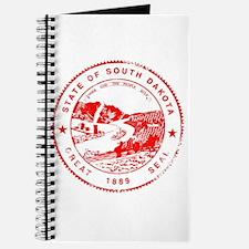 South Dakota Seal Rubber Stamp Journal