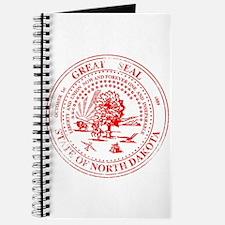 North Dakota Seal Rubber Stamp Journal