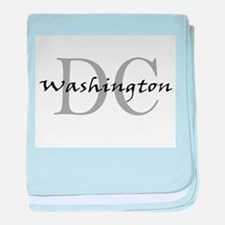 Washington thru DC baby blanket
