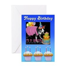 HAPPY BIRTHDAY BOSTON LOOK Greeting Card