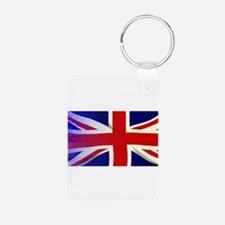 Union Jack Stars and Stripes Keychains