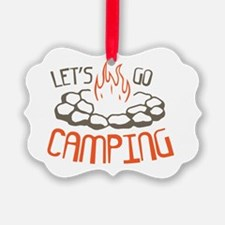 Cute Outdoor camping Ornament